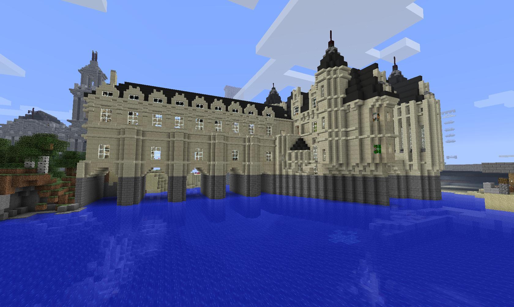 Cpc le serveur du xixe si cle - Chateau de minecraft ...